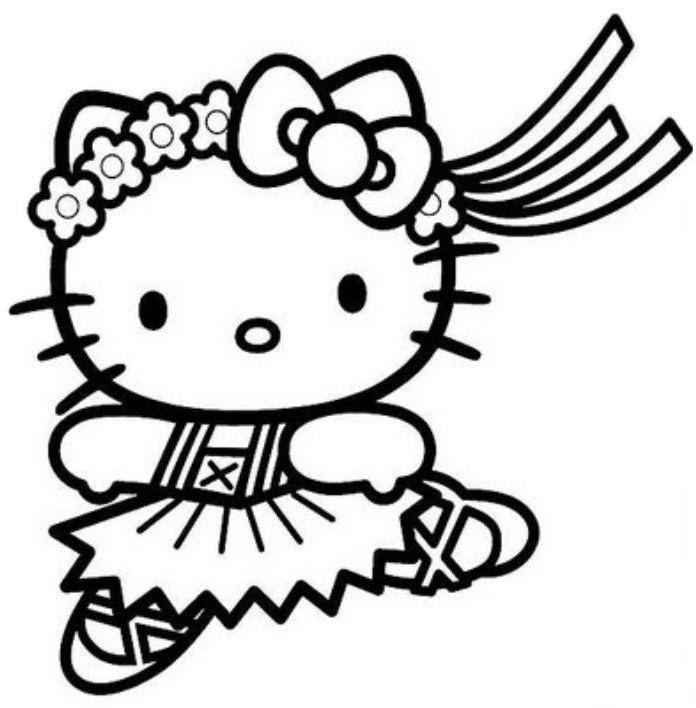 Hello kitty tegninger til fargelegging home - Dessin hello kitty ...